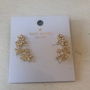 NWT Kate Spade dangle seeing stars earrings